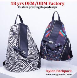 73080ded5 2020 Ladies Fashion Leather Canvas Backpack Women Designer Nylon Laptop  Backpack School Lady Travel Diaper Backpacks