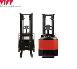 Flexible Well-Operated Counterbalanced Battery Powerful Electric Standing Stacker Pallet Stacker
