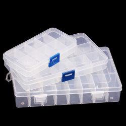 Wholesale Large Portable Vitamin Medicine Case 24 Compartment Pill Box