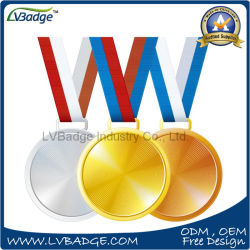 Custom Design 3D Gold Silver Bronze Sport Medal