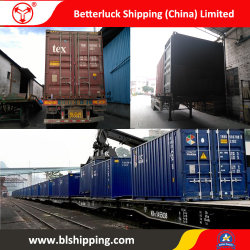 Railway Cargo Transportation From China to Iraq Baghdad Road Freight