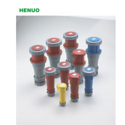 Industrial Socket Box Plastic Distribution Boxes Power Industrial Plug and Socket Plastic Case