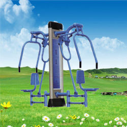 Double Sit Pusher Outdoor Multi Gym/Gymnastics Fitness Machine/Equipment for Sports