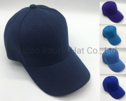 Wholesale Colourful 100% acrylic Blank Baseball Sport Caps