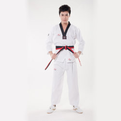 Martial Arts Costume Unisex Taekwondo Uniforms with Custom Logo
