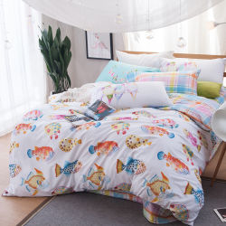 Cotton Polyester Bedroom Bed Linen Bedding Bed Sheets