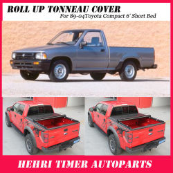 Used Toyota Pickup Cover Rolling Camper Cover for 89-04Toyota Compact 6' Short Bed