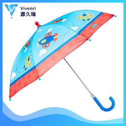 b00e40254053a Cartoon Design Umbrella with Dinosaur Printing, Kids Umbrella, Children  Rain Umbrella