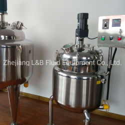 Stainless Steel High Pressure Electric Material Mixing Tank