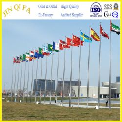 Suitable for All Places Stainless Steel Flagpole