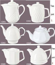 Porcelain Tea Pot for Hotel and Restaurant (CD01-06)