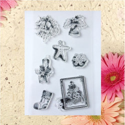 Different Style Lovely Cartoons Clear Stamps for Card Making Decoration and Scrapbooking