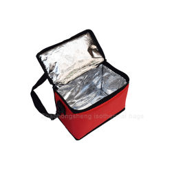 Good Quality Delivery Bag with Aluminium Foil Insulated Food Carriers for Hot Food