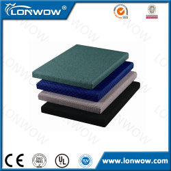 Auditorium Deco Material Leather Fabric Acoustic Panel Price