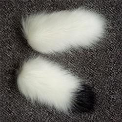 2017 Hot Style Raccoon Hair Bulb Key Chain Accessories