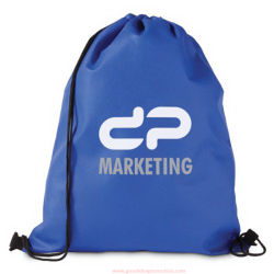 Orange Drawstrings Bag, Promotional Bag, Sport Bag, Bike Bag