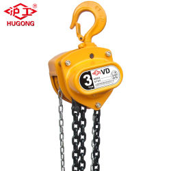 1ton Hand Chain Hoist Manaul Chain Block From Chiese Factory