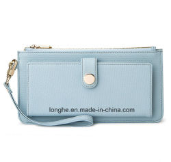 New Fashion Wholesale Price PU Cheap Purse (ZX10153)