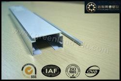 Gl2001 Aluminium Window Curtain Head Track and Tilt Rod for Vertical Blind Powder Coating White