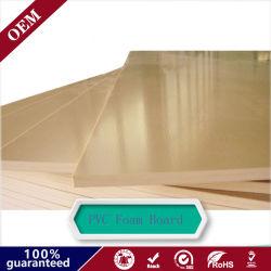 Sign Materials Waterproof Rigid Cabinet Making Decoration PVC Foam Sheet PVC Foam Board