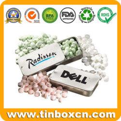 Factory Sliding Mint Tins for Slide Metal Can Gum Box