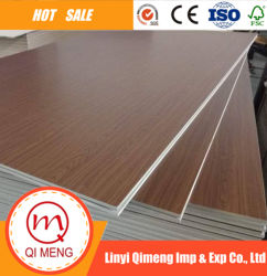 High Quality Particle Board Core Matt or Glossy Face Melamine Plywood for Furniture