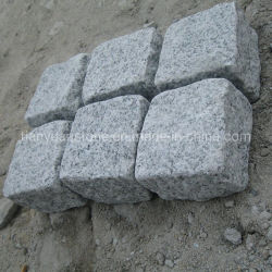 Natural Split G603/G654/G682/G664/Grey/White/Black/Beige/Yellow/Red Granite Pavers Cobblestone for Driveway