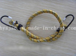 Best Quality and Low Price 8mm White Elastic Bungee Cord with Plastic End
