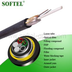 G652D Outdoor ADSS Fiber Optical All Dieletric Cable
