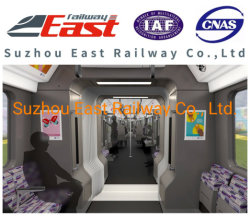 High Quality Latest Railway Passenger Car Coach Metro Lrt Emu