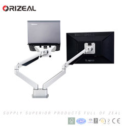 Adjustable LCD Monitor Support Arm with Gas Spring (OZ-OMM048)