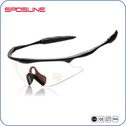 Yellow Lens Sport Sunglasses Used in Low Light Condition