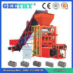 Cement Brick Machine Qtj4-26c Widely Used Concrete Block Making Machine for  Sale