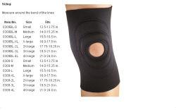 Neoprene Training Knee Sleeves Sports Support to Prevent Knee Injury