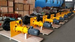 Vertical Non-Clogging Submersible Slurry Pump for Solid Transfer