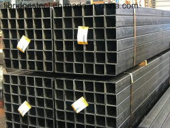 Non-Alloy or Q195/Q235Q345 Hot DIP Glavanized Rectangular/Square Steel Pipe/Rhs Gi Pipe/Shs Gi Pipe for Export
