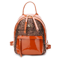 Fashion Mermaid Sports Reversible Sequin Travel Backpack Bag