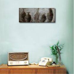 Still Life of Pots--Oil Painting New Design