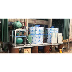 50tons Industrial Heavy Duty Flake Ice Machine System