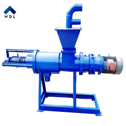 Cow Dung Solid-Liquid Separator, Biogas Slurry Dewatering Machine