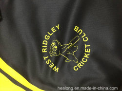 Healong 2018 Popular Dye Sublimation Sportswear Cricket Clothes