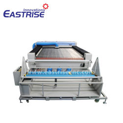 Reci 150W Fabric Soft Toy Sportswear Cloth Auto Feeding CO2 Laser Cutting Machine for Garment Industry