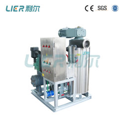 Slurry Ice for Fish, Seafood, Seawater Ice Machine Vessel 5t/Day