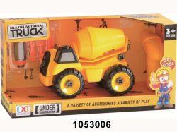 Funny DIY Feel Wheel Mathine Car Toy Cheap Item (1053005)