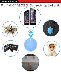 Private Bluetooth Tracker with Anti-Theft Anti-Lose GPS Tracker with Free Appliction