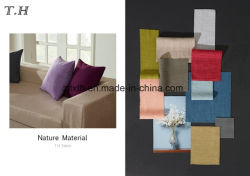 Linen Like Jacquard Fabrics for Sofas