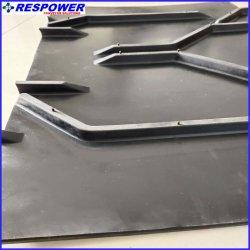 Tear-Resistant/Wear-Resistant Rubber Chevron Conveyor Belt Used in Transport Block