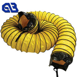 Waterproof Tarpaulin PVC Roll Fabric for Tunnel Ventilation Duct