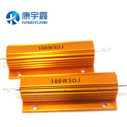 Gold Aluminum Housed Wirewound Resistors