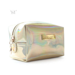 Custom New Product Travel Shiny PVC Leather Cosmetic Makeup Bag